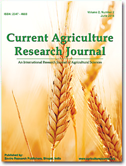 Cover - Current Agriculture Research Journal